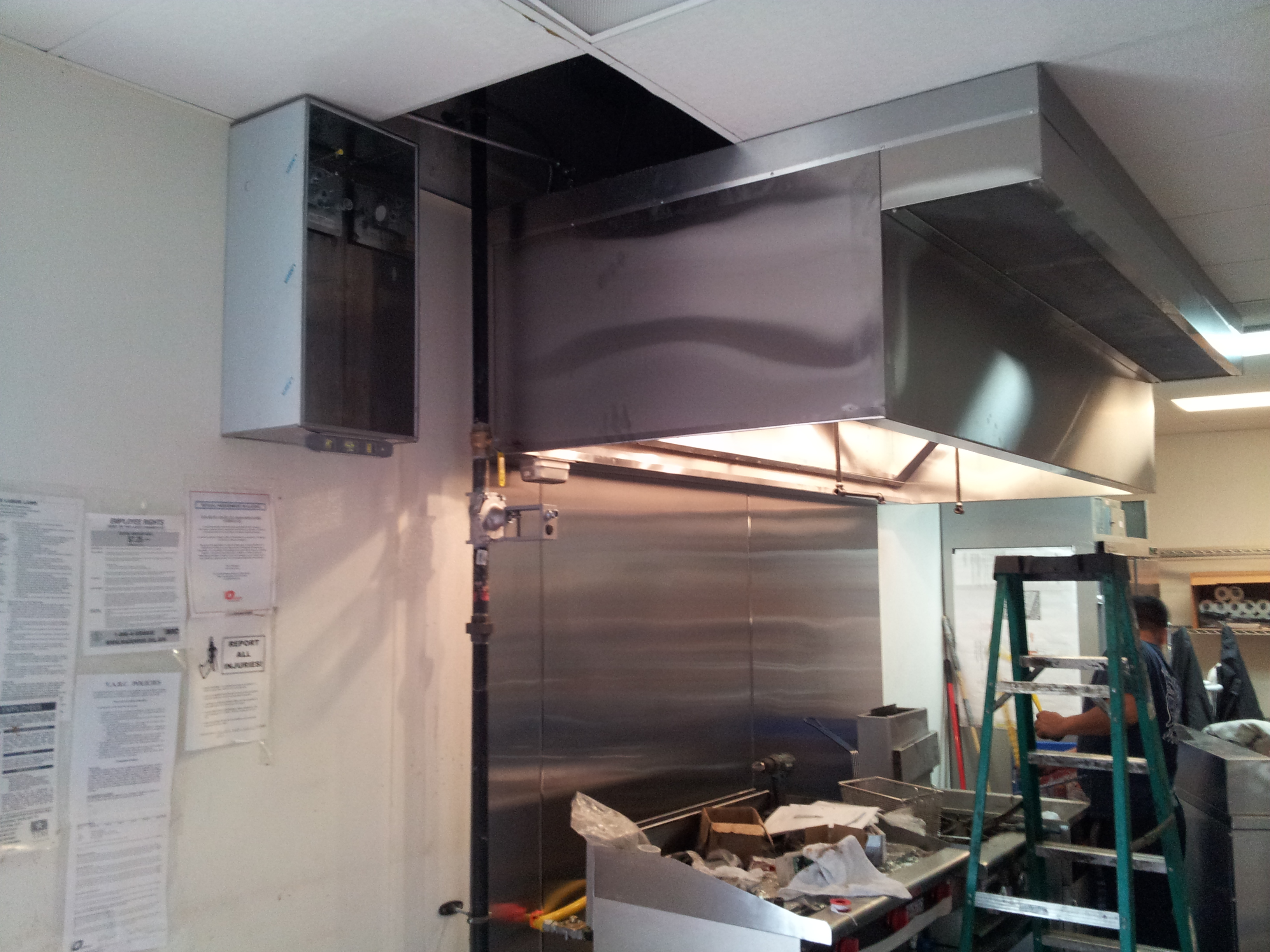 Kitchen Hood Fire Suppression System Kitchen Hood Fire Systems. Kitchen  Hood Fire Systems. Source Abuse Report